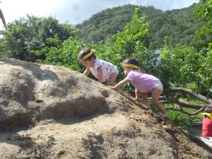 1歳児もどんどん登る