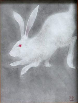 ウサギでごぜえやす。