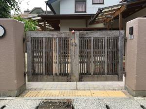 門扉の現状
